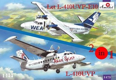 Let L-410UVP-E10 & L-410UVP - 1473 Amodel 1:144