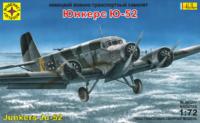 Ju-52/3m военно-транспортный самолет - 207277 Моделист 1:72