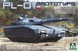 PL-01 Prototype легкий танк - 2127 Takom 1:35