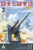Штиль (SA-N-7 & SA-N-12) морской ЗРК - 2136 Takom 1:35