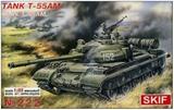 Т-55АМ основной боевой танк - 222 Skif 1:35