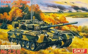 Т-80УДК командирский танк - 226 Skif 1:35