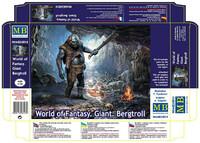 Мир Фэнтези Великан-Горный тролль - MB24014 Master Box 1:24