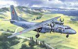 Ан-26 военно-транспортный самолет - Amodel 72118 1:72