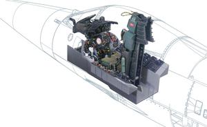 F-104 G Cocpit - 2991 Italeri 1:12