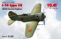 И-16 тип 28 истребитель - 32002 ICM 1:32