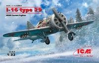 И-16 тип 29 истребитель - 32003 ICM 1:32