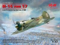 И-16 тип 17 Советский истребитель - 32005 ICM 1:32
