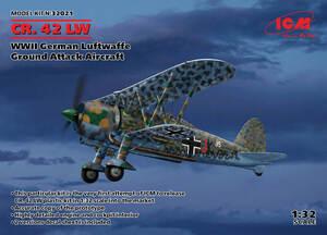 CR.42 (Falco) штурмовик - 32021 ICM 1:32