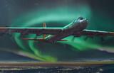 Convair B-36B Peacemaker стратегический бомбардировщик - 347 Roden 1:144