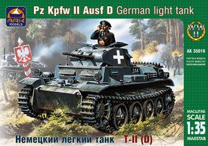 Легкий танк Т-II C - 35018 ARK-Models 1:35