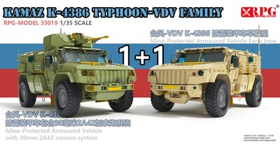 Тайфун-ВДВ К-4386 набор 1+1 - 35019 RPG 1:35