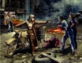 «Зомбиленд» Охотник на Зомби - Дорога к свободе. MB35175 Master Box 1:35