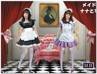 «Нана и Момоко» Девушки в стиле мэйдо-кафе. MB35186 Master Box 1:35