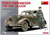 MB Typ 170V штабной автомобиль-седан - 35203 MiniArt 1:35