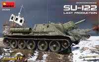 СУ-122 последняя серия САУ с полным интерьером - 35208 MiniArt 1:35