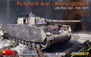 Pz.Kpfw.IV Ausf. J Nibelungenwerk Late средний танк - 35342 MiniArt 1:35