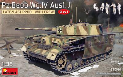 Pz.Beob.Wg.IV Ausf. J средний танк - 35344 MiniArt 1:35