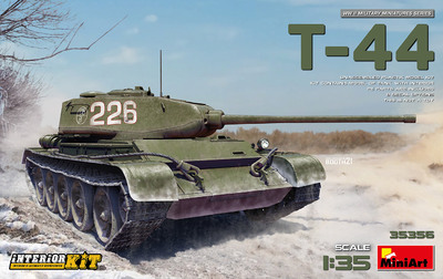 Т-44 средний танк с интерьером - 35356 MiniArt 1:35