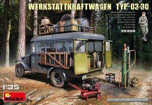 Werkstattkraftwagen Typ-03-30 ремонтная летучка - 35359 MiniArt 1:35
