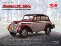 Москвич-401-420А Советский легковой автомобиль - 35484 ICM 1:35