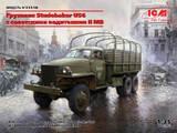 Studebaker US6 w/Soviet Drivers грузовик - 35510 ICM 1:35