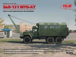ЗиЛ-131 MTO-AT Советский армейский автомобиль - 35520 ICM 1:35