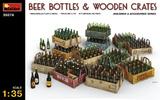 Пивные бутылки с ящиками - 35574 MiniArt 1:35