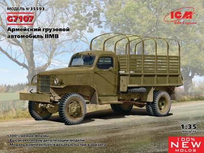 G7107 армейский грузовик - 35593 ICM 1:35