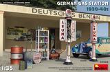 Немецкая заправочная станция 1930-40 - 35598 MiniArt 1:35