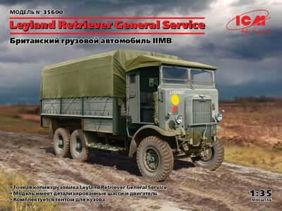 Leyland Retriever армейский грузовик - 35600 ICM 1:35