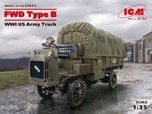 FWD Type B армейский грузовик WWI - 35655 ICM 1:35