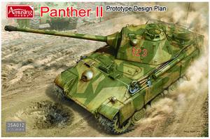 Panther II Prototype Design Plan. 35A012 Amusing 1:35