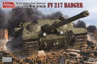 FV217 Badger САУ - 35A034 Amusing Hobby 1:35
