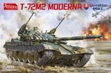 T-72M2 Moderna основной танк - 35A039 Amussing Hobby 1:35