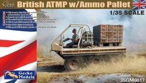 ATMP w\Ammo Pallet транспортер - 35GM0017 Gecko Models 1:35