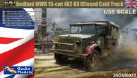 Bedford MWD 15-cwt 4x2 GS грузовик - 35GM0027 Gecko Models 1:35