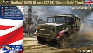 Bedford MWD 15-cwt 4x2 GS грузовик - 35GM0027 Gecko Models 1:35