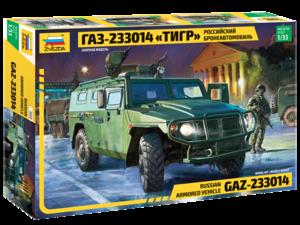 ГАЗ-233014 Тигр - 3668 Звезда 1:35