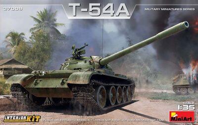 Т-54А средний танк - 37009 MiniArt 1:35