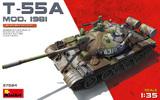 Т-55А обр.1981 средний танк - 37024 Miniart 1:35