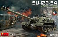 СУ-122-54 поздний тип - 37042 MiniArt 1:35