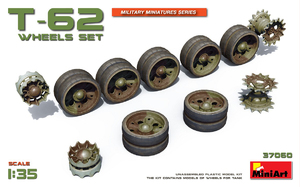 Набор катков для танка T-62 - 37060 MiniArt 1:35