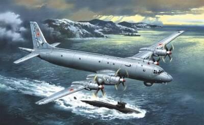 Ил-38/Ил-38Н - 72010-02 Amodel 1:72