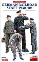Немецкий Железнодорожный Персонал 1930-1940 - 38012 MiniArt 1:35