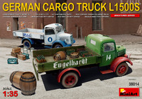 L1500S гражданский грузовой автомобиль 4х2 - 38014 MiniArt 1:35