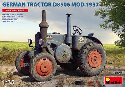 D8506 трактор мод. 1937 - 38029 MiniArt 1:35