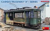 Грузовой Трамвай Серии Х - 38030 MiniArt 1:35