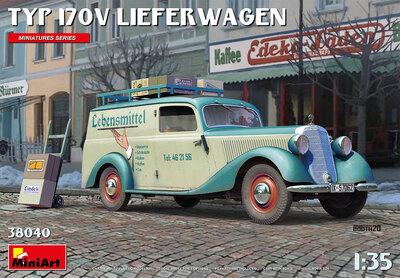 Typ 170V Lieferwagen доставка пива - 38040 MiniArt 1:35