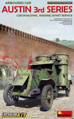 Austin Armoured Car 3rd Series броневик - 39007 MiniArt 1:35